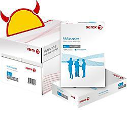 PAPIER XEROX A4 80 G/M² BLANC MULTIPURPOSE - CARTON DE 5 RAMETTES - 500 FEUILLES