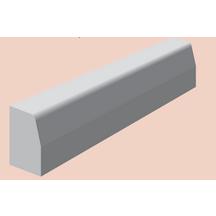 Bordure Béton Gris T2 Classe U B 15x25cm Longueur 1 00m Nf St Point P Developpement