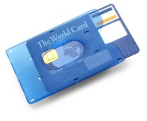 Porte-cartes de crédit Frosty - 22226