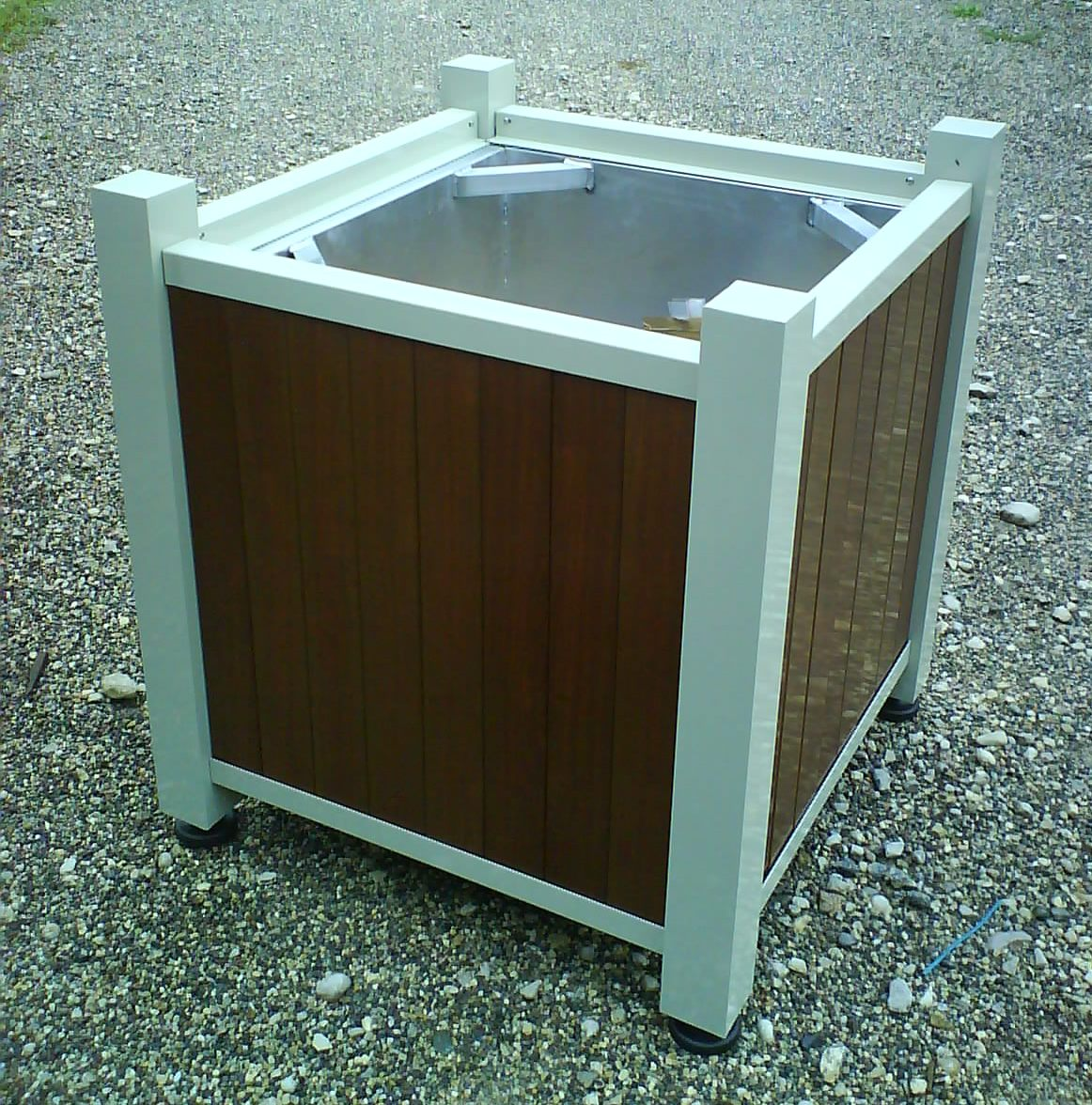 bac d 39 orangerie lattes facon bois. Black Bedroom Furniture Sets. Home Design Ideas