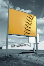 Panneau publicitaire 4x3 for Fabricant panneau publicitaire exterieur