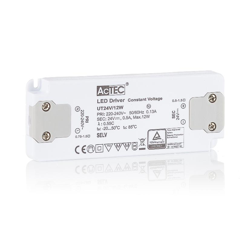 ACTEC SLIM DRIVER LED CV 24V, 12W