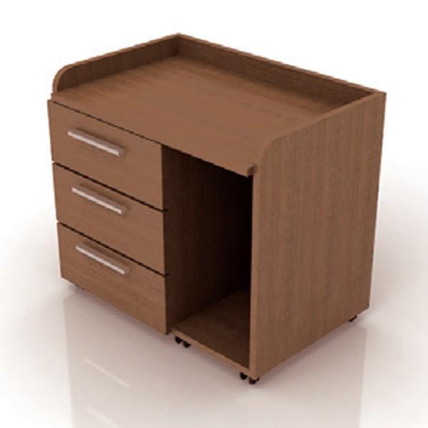 Desserte informatique 3 tiroirs - Armoire informatique industrielle ...