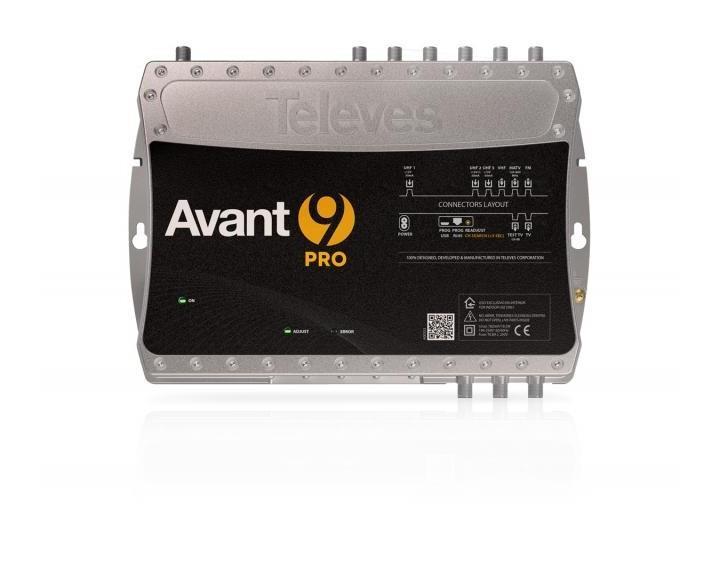 TELEVES AVANT9 PRO CENTRALE MULTIBANDE PROGRAMMABLE 10C AVANT HD LTE