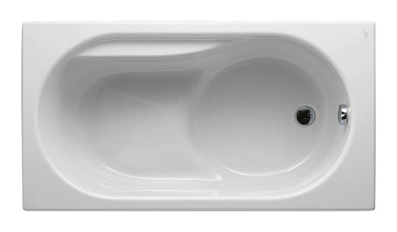 baignoire nue rectangulaire sabot praxis 120x70 ideal. Black Bedroom Furniture Sets. Home Design Ideas