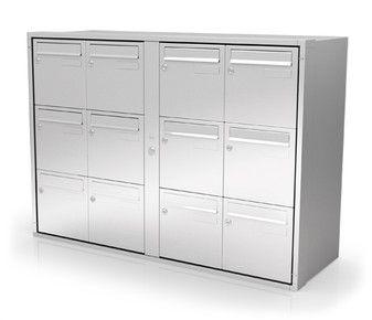 Boîtes aux lettres collectives artic   intérieur   en acier   normalisée    260 x 340 x 260 mm   gris Produit neuf 131642047ff3