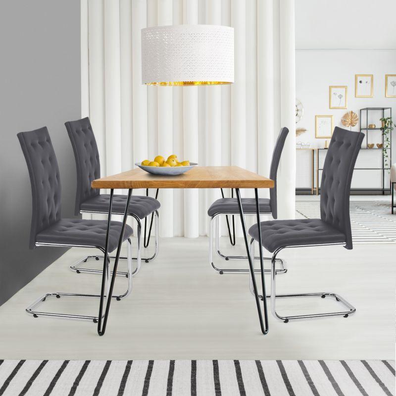 Chaises pour salles à manger idmarket Achat Vente de