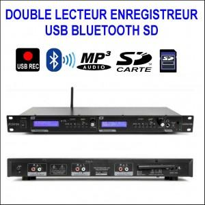 Vx2usb double lecteur enregistreur mp3 - usb - bluetooth