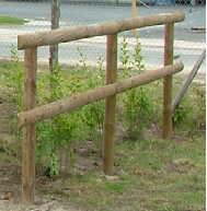 Cloture de prairie - Cloture de jardin chataignier ...