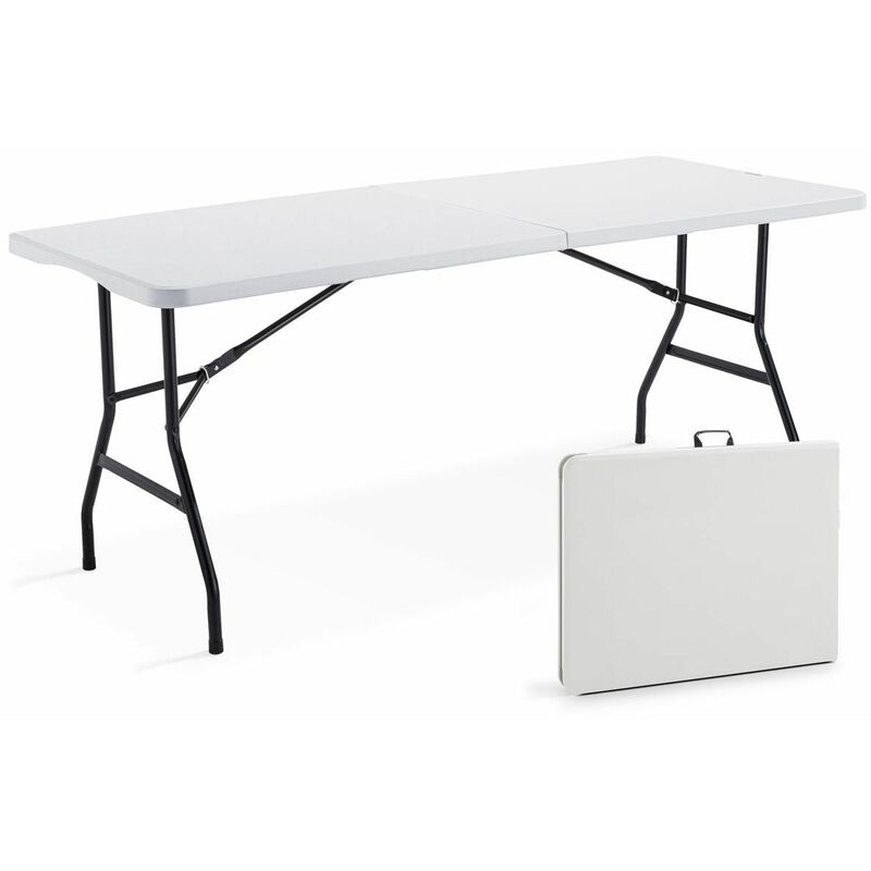 TABLE RECTANGULAIRE 8 PERSONNES 180 CM - REKKEM