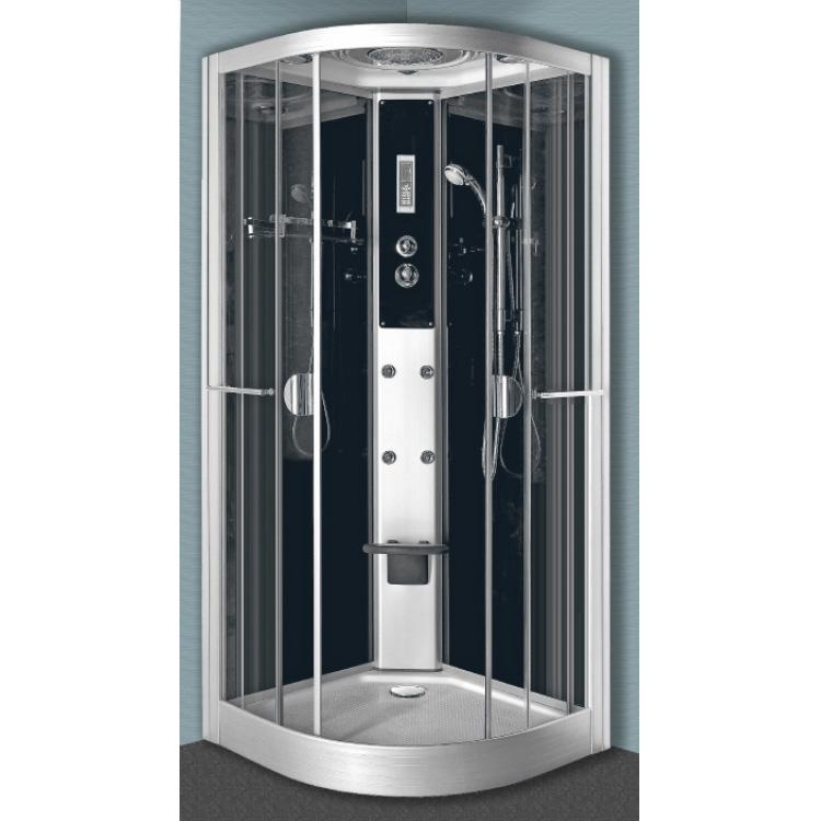 cabine de douche hydromassante venise 1 4 de cercle. Black Bedroom Furniture Sets. Home Design Ideas