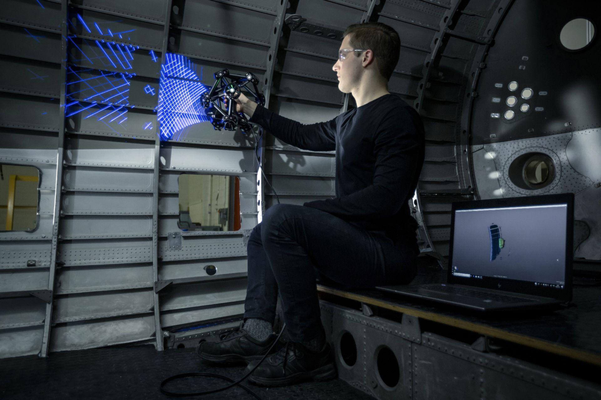 Scanner 3d optique - metrascan 3d