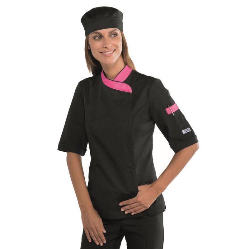 Hauts de travail isacco achat vente de hauts de travail isacco comparez les prix sur - Veste cuisine femme manche courte ...