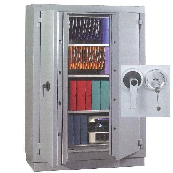 armoire ignifuge papier 2 heures 747 litres a cle. Black Bedroom Furniture Sets. Home Design Ideas