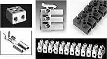 Blocs de jonction, barrettes, connecteurs, borniers, répartiteurs…