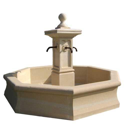 Bassin fontaine de jardin en pierre nouveaux mod les de - Modele fontaine de jardin ...