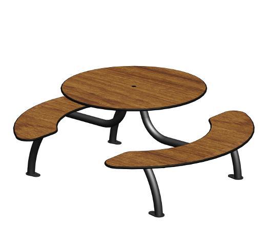 table de pique nique ta 173. Black Bedroom Furniture Sets. Home Design Ideas