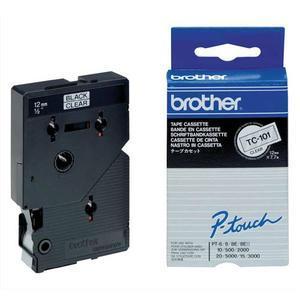 Bro cassett rub tc n/trs 12mmx7.7m tc101