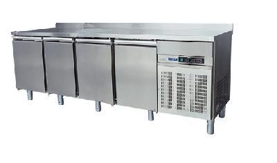 Meuble bas réfrigéré gn 1/1 4 portes +1° +4° c