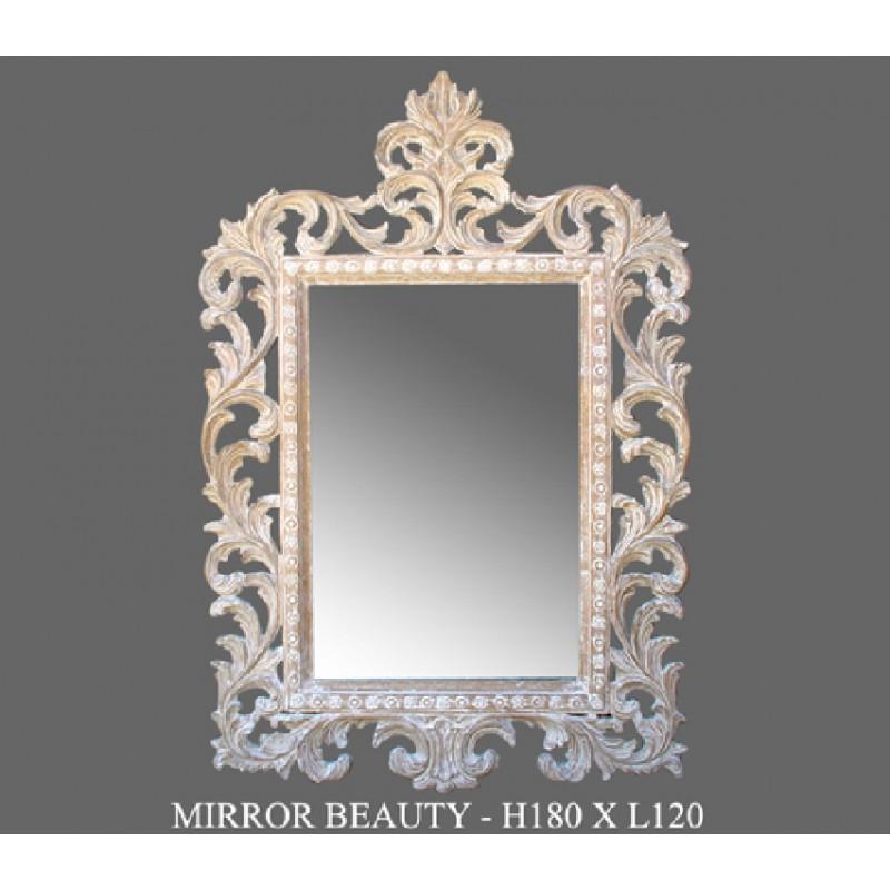 Miroirs decoratifs tous les fournisseurs miroir for Miroir bois ceruse