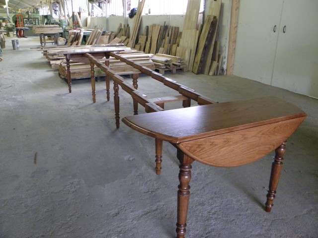 Table basse louis philippe images for Table ronde louis philippe