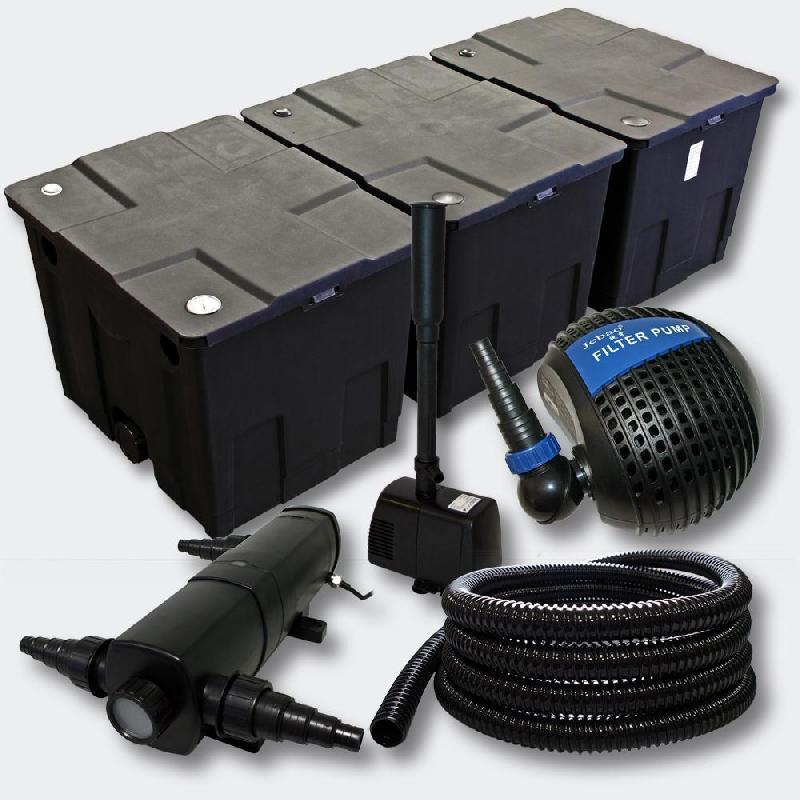 Kit de filtration de bassin 90000l 24 watts uvc stérilisateur pompe fontaine 4216457