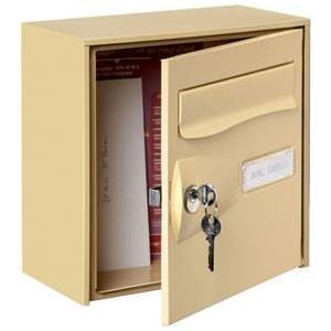 bo tes aux lettres individuelles comparez les prix pour professionnels sur page 1. Black Bedroom Furniture Sets. Home Design Ideas