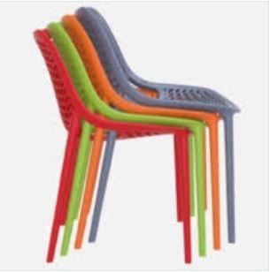 Chaise 4 pieds modèle aira - bureauservice
