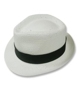 Chapeau panama petibor couleur blanc ref. spapu