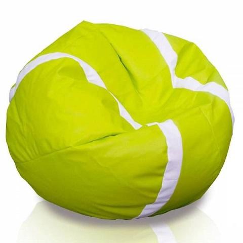 différemment 98727 0d428 Fauteuil pouf en forme de balle de tennis