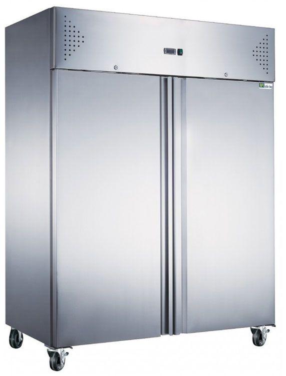 Aaf14p armoire positive 2 portes inox