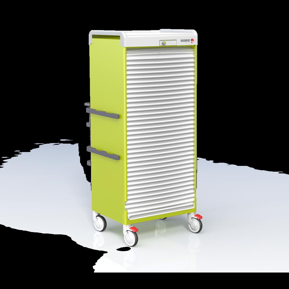 armoires medicales mobile basse f0600 15g et rails serrure ls100 logist alli. Black Bedroom Furniture Sets. Home Design Ideas