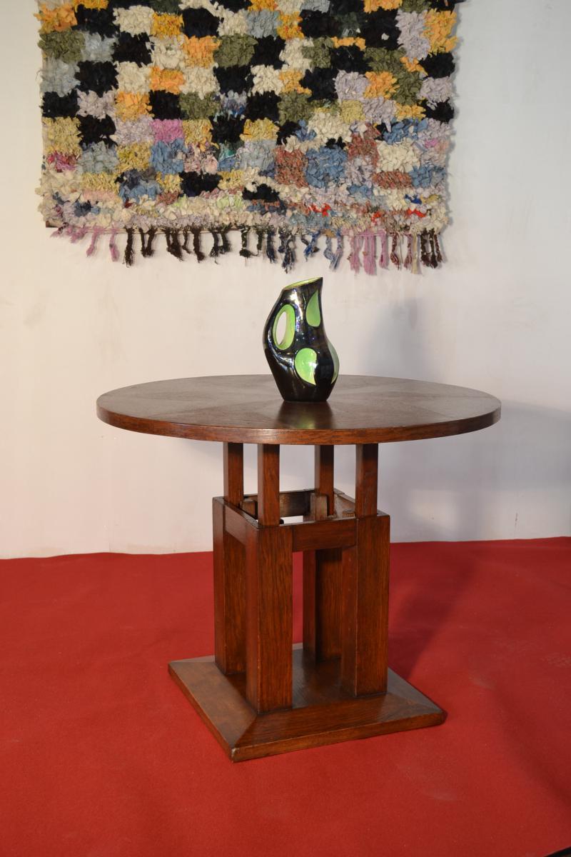 gueridon art deco. Black Bedroom Furniture Sets. Home Design Ideas