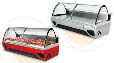 comptoir refrigere vitrine boucherie exposition 90cm. Black Bedroom Furniture Sets. Home Design Ideas