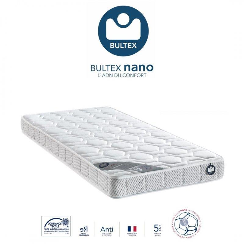 matelas 80 190 cm bultex i novo 10 epaisseur 16 cm. Black Bedroom Furniture Sets. Home Design Ideas
