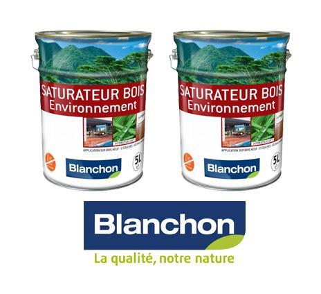 LOT DE SATURATEUR ENVIRONNEMENT NATUREL - 2 X 5 LITRE - BLANCHON