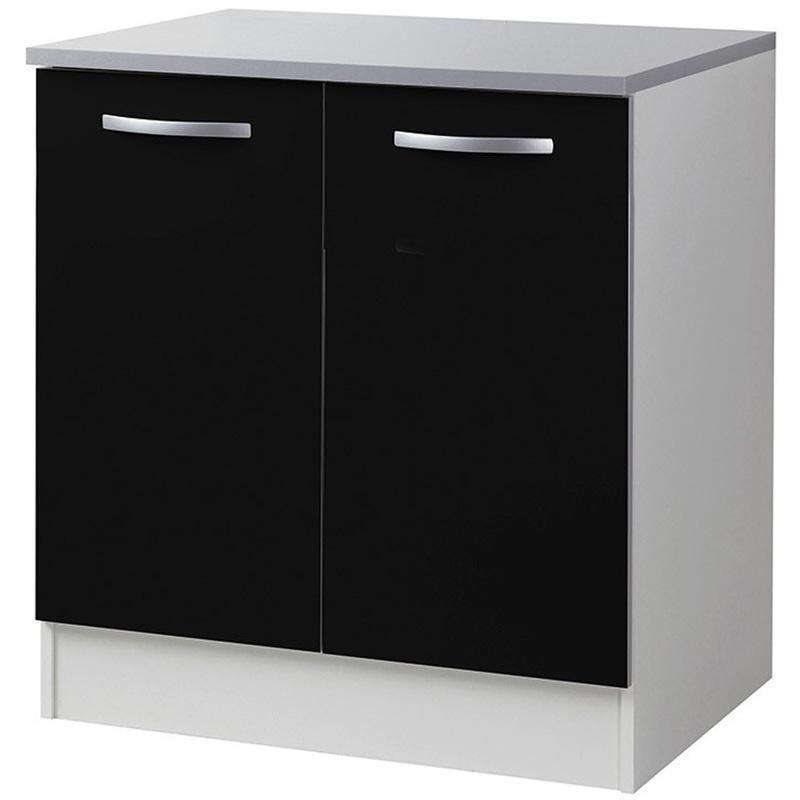 meuble bas cuisine 80 cm maison design. Black Bedroom Furniture Sets. Home Design Ideas
