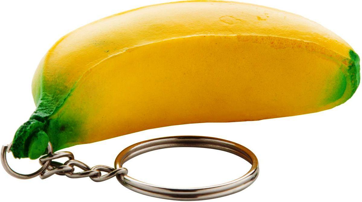 PORTE CLES AVEC FRUITS ANTI-STRESS EN PU
