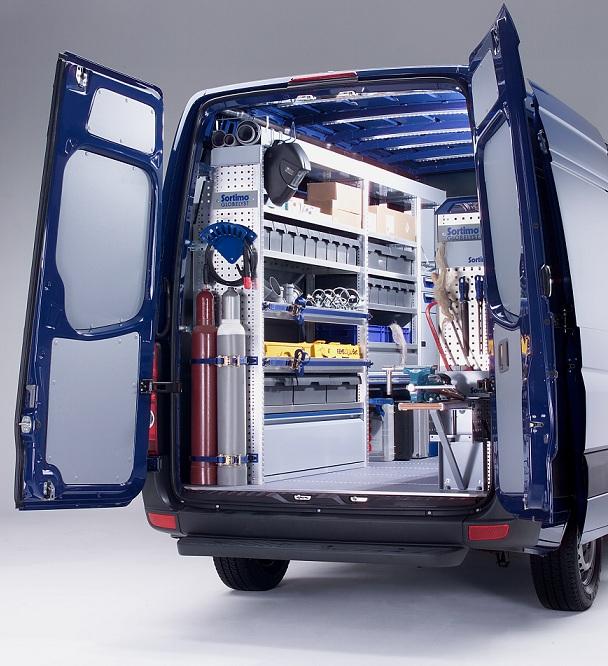 Meuble de rangement pour volkswagen crafter
