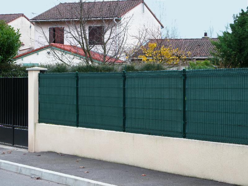 Cl ture en plastique jardin et saisons achat vente de for Jardin gris et vert
