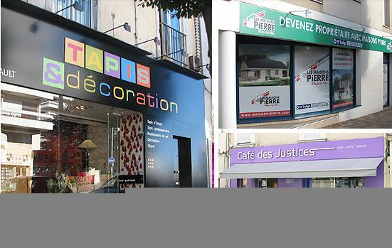 Panneaux d 39 affichage exterieur enseigne facade for Affichage lumineux exterieur