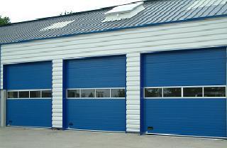 Portes sectionnelles industrielles tous les fournisseurs for Porte de garage sectionnelle 3m de large