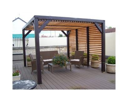 Garage en bois foresta achat vente de garage en bois for Piscine sur toit garage