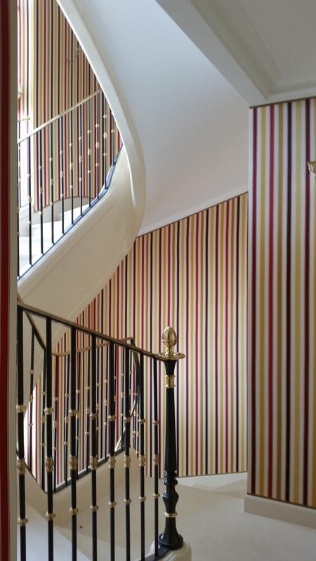 Tapisseries et tentures tous les fournisseurs for Tapisserie montee escalier