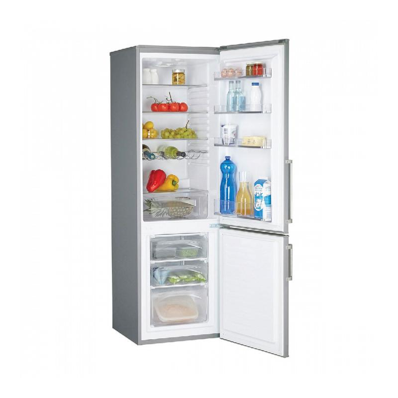 candy refrigerateur combine ccbs6182xh ccbs 6182 xh inox anti traces. Black Bedroom Furniture Sets. Home Design Ideas