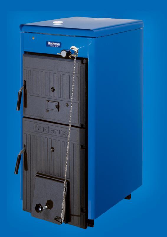 Chaudiere fonte pour combustible solide logano g211 for Chaudiere au bois exterieur
