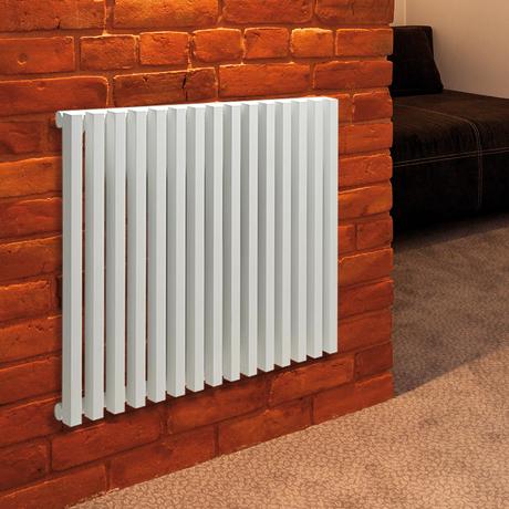radiateur eau chaude horizontal 98x60cm 809w diva comparer. Black Bedroom Furniture Sets. Home Design Ideas