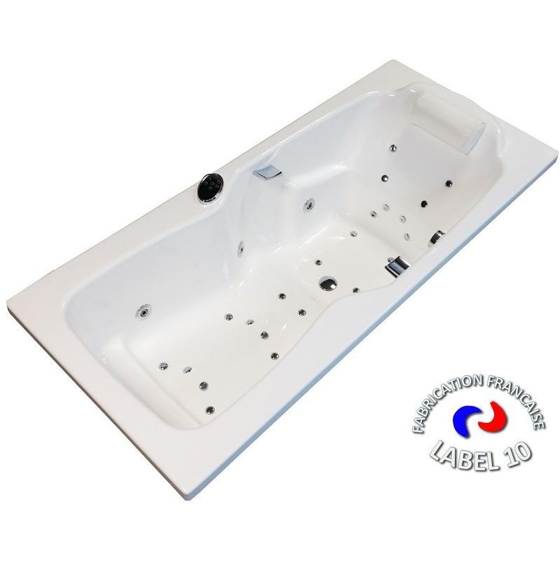 Baignoires dbs baln o achat vente de baignoires dbs for Baignoire balneo 160x70