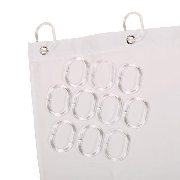 anneaux rideau de douche comparer les prix de anneaux rideau de douche sur. Black Bedroom Furniture Sets. Home Design Ideas