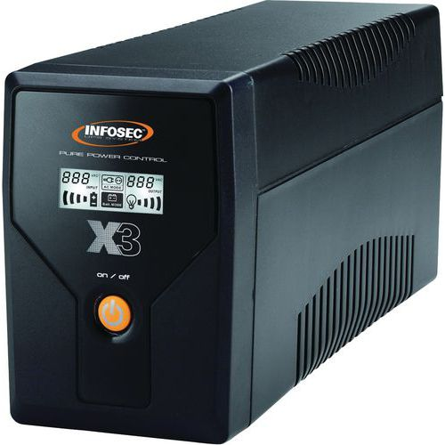 ONDULEUR X3 EX INFOSEC 500 VA